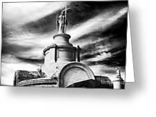 Worship Greeting Card by John Rizzuto
