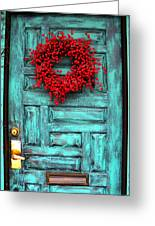 Wreath Of Berries Greeting Card by Chris Berry