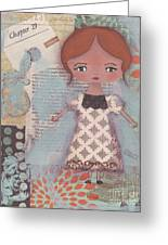 Write Your Story Greeting Card by Trenda Marie Plunkett