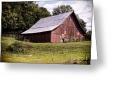 Wv Barn Greeting Card by Gena Weiser
