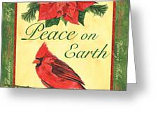Xmas around the World 1 Greeting Card by Debbie DeWitt