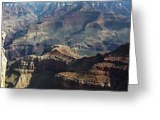 Yaki Point Grand Canyon Greeting Card by Gilbert Artiaga