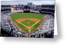 Yankee Stadium 1 Greeting Card by Bob Stone