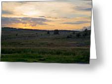 Yorkshire - Sheepwash Osmotherley Greeting Card by Scott Lyons
