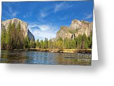 Yosemite Greeting Card by Jane Rix