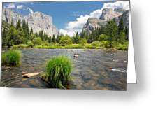 Yosemite Greeting Card by Jerome Obille