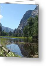 Yosemite Valley Greeting Card by Catherine DeHart