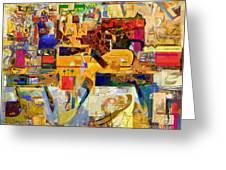 You Graciously Endow Man With Wisdom 16f Greeting Card by David Baruch Wolk