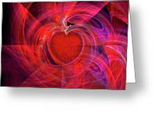 You Make My Heart Beat Faster Greeting Card by Michael Durst