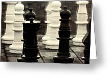 Your Move Greeting Card by Colleen Kammerer