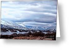 Yukon Territory Flowing River Greeting Card by Gena Weiser