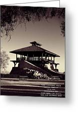 Yuma Territorial Prison Observation Post Greeting Card by Chuck Caramella