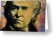 Zachary Taylor Greeting Card by Corporate Art Task Force