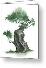Zen Tree 1000 Greeting Card by Sean Seal