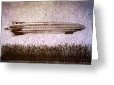 Zeppelin Greeting Card by Bob Orsillo