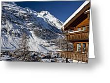 Zermatt Greeting Card by Brian Jannsen