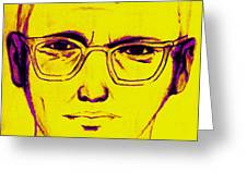 Zodiac Killer With SIgn 20130213m68 Greeting Card by Wingsdomain Art and Photography