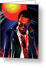 Zombie Rezurrection Greeting Card by Brian Gibbs