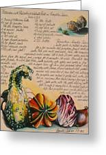 Zucche-pumpkin Greeting Card by Alessandra Andrisani
