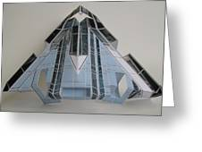 Architecture  Reconstruction Greeting Card by Alfred Ng