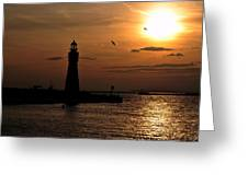 018 Sunset Series Greeting Card by Michael Frank Jr