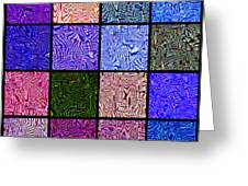 0663 Abstract Thought Greeting Card by Chowdary V Arikatla