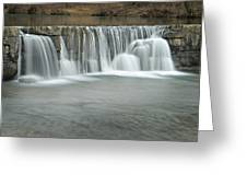 0902-7025 Natural Dam 3 Greeting Card by Randy Forrester