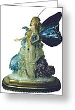 01md076-madame Butterfly Greeting Card by Shirley Heyn
