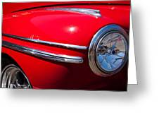 1946 Ford Mercury Eight Greeting Card by David Patterson