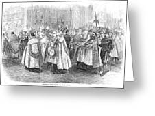 1st Vatican Council, 1869 Greeting Card by Granger