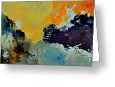 Abstract 8821013 Greeting Card by Pol Ledent