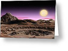Alpha Centauri System Greeting Card by Lynette Cook