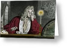 Anton Van Leeuwenhoek, Dutch Greeting Card by Science Source