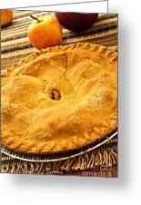 Apple Pie Greeting Card by Elena Elisseeva