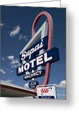 Arizona: Motel, 2009 Greeting Card by Granger