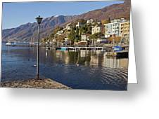 Ascona - Lake Maggiore Greeting Card by Joana Kruse