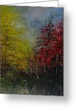 Autumn Sunshine Greeting Card by Sherry Robinson