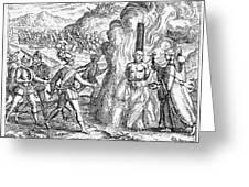 Bartolome De Las Casas Greeting Card by Granger