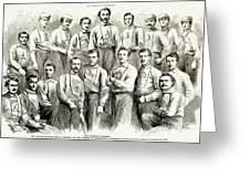 Baseball Teams, 1866 Greeting Card by Granger