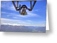 Bell In Heaven Greeting Card by Joana Kruse