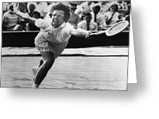 Billie Jean King (1943- ) Greeting Card by Granger