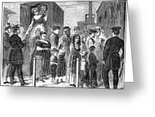 Blackwells Island, 1868 Greeting Card by Granger