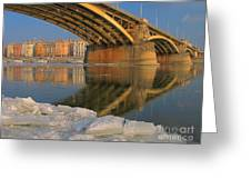 Bridge Greeting Card by Odon Czintos