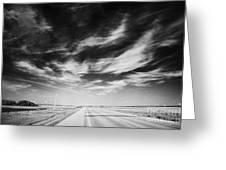 broadway bridge over the South Saskatchewan river Saskatoon Canada Greeting Card by Joe Fox