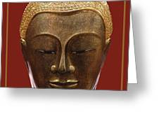 Buddha's Pleasure Greeting Card by Allan Rufus
