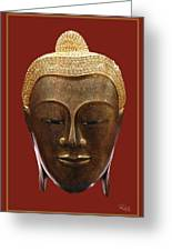 Buddha's Pleasure Greeting Card by Allan Rufus