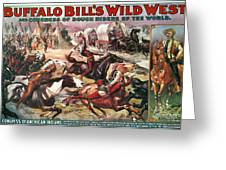 Buffalo Bills Show Greeting Card by Granger