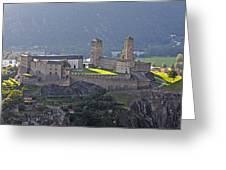 Castel Grande - Bellinzona Greeting Card by Joana Kruse