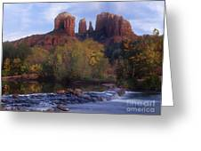 Cathedral Rock Greeting Card by Darleen Stry
