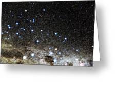 Centaurus And Crux Constellations Greeting Card by Eckhard Slawik
